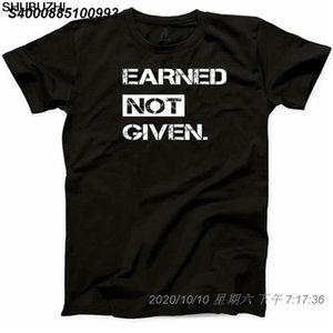 coton Nouveau été gagné Hommes Non Fitness T-shirt Compte tenu de motivation unisexe Gym culturisme yoga T-shirt décontracté T-shirt 4791510