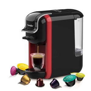 Freeshipping italienischen Espresso elektrische Kaffeekapsel Maschine 3 in 1 für Nestle Kapseln Küchengeräte 19 bar Kaffeemaschine
