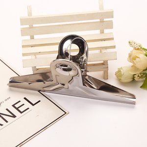Stainless Steel Folder Iron Clamp Paper Clip Dovetail Clips Office Supplies Have Small And Big Size 15cmx7cm