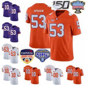 NCAA Clemson Tigers Football 98 Myles Murphy Jersey 53 Regan Upshaw 5 DJ Uiagalelei 10 Baylon Spector EJ Williams Herren Kinder Frauen