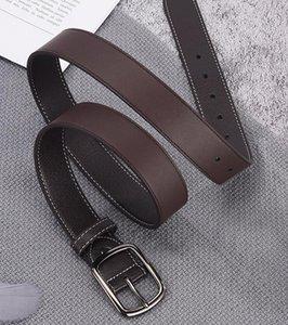 Cintura da uomo ad alta qualità Cintura da uomo in pelle di vacchetta di alta qualità cinture per uomo Cowboy Casual Fashion Fashion Classice Vintage Pin Bibbia cintura