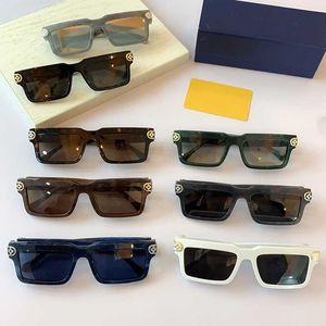 Новые мужские квадратные солнцезащитные очки Z1403 Мужская мода Солнцезащитные очки площади кадра лист кадров Ретро стиль отдыха Отдых Специальные Высочайшее качество + Boxs
