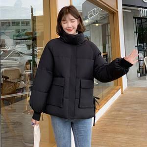 LYJMTDBK 2021 Giacca in cotone in stile nuovo stile inverno Giacca da donna a corto di pane coreano