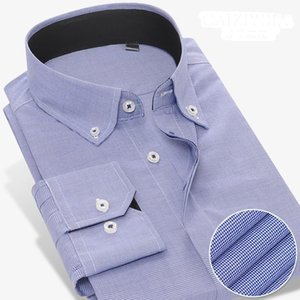 Grevol 2017 Nueva Llegada Sólida Manga larga camisas Formal Business Social Shirts 100% algodón Cuello cuadrado Men Dress1