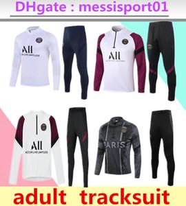 2020/21 Paris Trainingsanzug 20 21 FRANCE Mbappe lange Ärmel Trainingsanzug Fußball Jacke Kit Trainingsanzug Uniform chandal