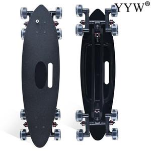2021 브랜드 8 바퀴 스케이트 보드 랜드 캐주어 큰 물고기 보드 플랫 랜드 카버 Surt Skate Board 깜박이 깜박이는 롱 보드