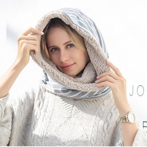 2020 Cooeverly femmes multi-hijab cou chaud multifonction Infinity Scarf Hommes Femmes Hedging universelle Hot Sale