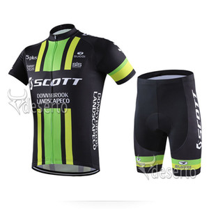New Scott Cycling Jersey Bicycle Clothes Racing Team Short Sleeve Maillot Ciclismo Kits Summer Breathable Bike Clothing Set Y052922