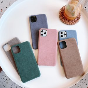 Smooth leather case for iPhone 12 mini 11 pro max xs XR 6 7 Plus 8 Back Phone Cover Slim