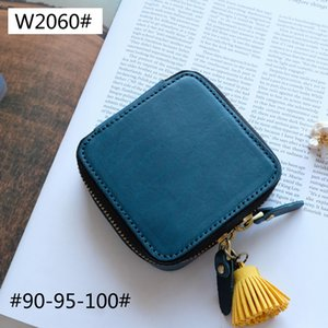 Old cobbler W2060# Small cosmetic bag Genuine Leather Jewelry bags Customized multi-style leather Accessories Free shipping with DHL