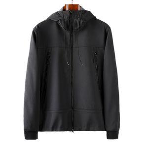 패션 -CP Topstoney Company 2019 봄과 가을 느슨한 스타일 탑 남성 소프트 쉘 자켓 코트 안경 모자 봉제와 두꺼운