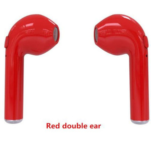 Mikrofon için iOS Android ile Toptan Orijinal Mini tws i7s Twins Bluetooth Kulaklık Stereo Kulaklık Kablosuz Kulaklık Telefon Kulaklık