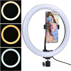 30cm Professional LED Selfie Ring Light Light para grabación de video Live BroadCast Selfie Modos Maquillaje de maquillaje para todos los teléfonos, cámaras1
