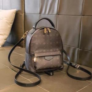 Mini mochila senhora Genuine Leather Mochilas moda mochila fuxo mulheres bolsas saco de corpo presbiopia Mini bolsa de ombro bolsa Cruz
