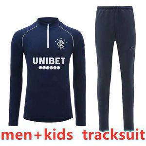 2020 2021 Glasgow Rangers Männer Kinder Trainingsanzug Windass Dorrans Candeias Tavernier Rangers Fussball Fussball Trikot 20 21 Erwachsene Fußballtraininganzug