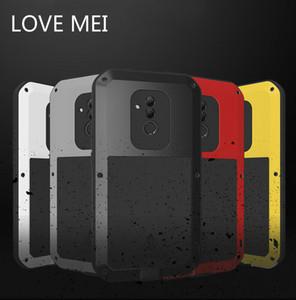 ЛЮБОВЬ MEI для Huawei 20 Lite Mate 10 P20 P30 Pro Nova 4 E Ударопрочный Анти Падение телефон Обложка Прочный чехол Доспех