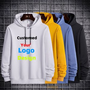 Customed Hoodies Text Photo 3D Print Men Women Personalized Team Family Customize Sweatshirt Polluver Customization Clothes 201020