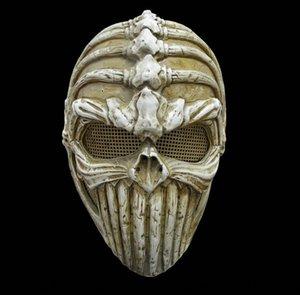 maschera edizione del tesoro mestiere di protezione eccellente viso fresco FRP protettiva in resina maschera speciale osso dO8ta