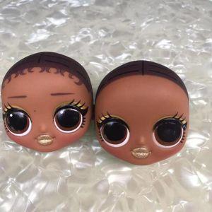 Big Sister Doll Head Toy Girl Doll Toy Head DIY Planting Hair Parts Girl Fashion DIY Dressing Gifts Favors