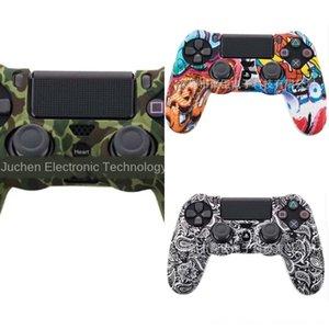 FactoryLM2Eclear Housing RBHYM Black PS4 Pro Shell Crystal Placa Facial Funda para PlayStation 4 Front Slim Transparent Controller - SP4