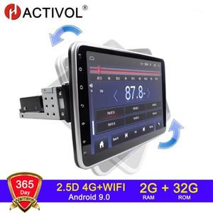 10,1-дюймовый Android 9.1 Автомобильный Радио GPS Навигация 4G Wi-Fi 2 + 32G Цвет экрана Автомобиль Радио Мультимедиа Видеоплеер Rotation1