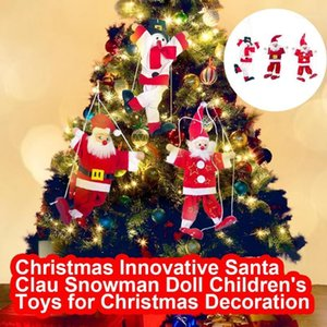 Decoraciones de Navidad LY LLEGADO LIBRE PEQUEÑOS CONSEJOS INNOVANTE SANTA CLAU Muñeco de nieve Muñecas Juguetes para niños para decoración1