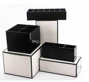 2020 New classic CC logo Acrylic Toiletry Storage Box Cosmetic Accessories Storage Boxes Women Exquisite Makeup Tools Organizer vip gift