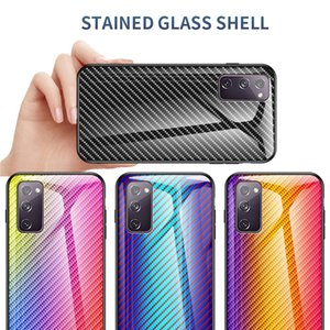 Suitable for Samsung Galaxy s20 Fan Edition s20 ultra small daisy pattern tempered glass phone case s10 s9 s8 s7 plus S21designer phone case