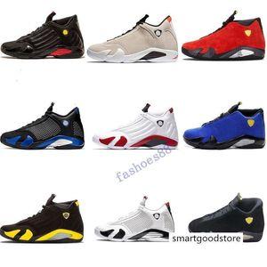 hot Jumpman 14s Mens Basketball Shoes Varsity Royal Red Reverse Sports Trainer Ferrar Last Shot Black Toe Basket Ball Sneaker Des Chaussures