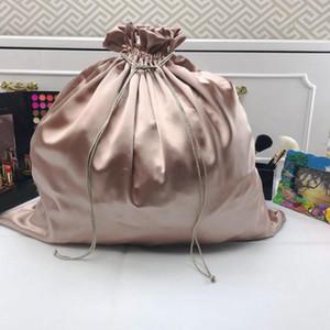 Custom Packaging Bags Dust Bags for Shoes Packet Cosmetics Underware Hair Satin Bag Make up Custom Size 20pcs