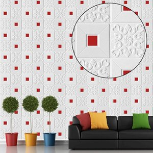 Ceiling Wall Stickers Roof Decoration Wallpaper Self Adhesive 3D Foam Waterproof DIY Home Decor Kid Room Kitchen TV Background