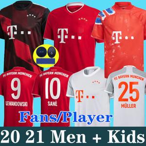 20 21 Bayern Münih COUTINHO futbol forması LEWANDOWSKI MULLER HERNANDEZ futbol forması Erkekler + Çocuk kiti 120. 120 yıl MUNCHEN 2020 2021