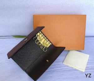 Women and Men Genuine Leather 6 key holder bag Wallets card Holder Purses VL41256