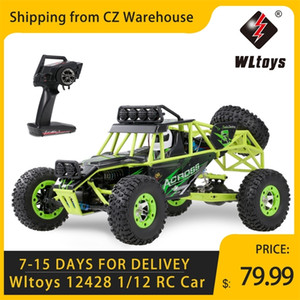Wltoys 12428 1 12 RC Car 2.4G 4WD Electric Brushed Racing Crawler RTR 50km h High Speed RC Off-road Car Remote Control Car Toys 201103