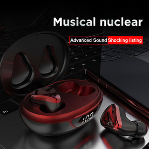 Super Bass Dual Channel Wireless Earphones Bluetooth 5.0 TWS Earbuds Headphones With Charging Box Mini Earphone for iPhone and Android