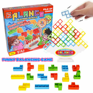 Tetris Balancing Bricks Blocks Kids Baby Toddlers Building Balance Games Blocks