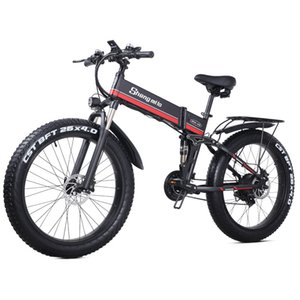 Mountain Bike off-Road Folding Racing26-Inch Folding Electric Booster Car 4.0 Fat Tire Electric Mountain Bike Snow Lithium Battery Scooter S
