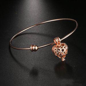 New unique women cuff bangle Aroma fragrance essential oil diffuser bracelets Fashion DIY hollow ps0774