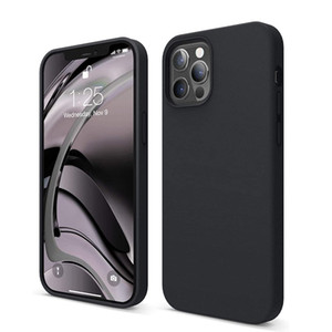 For iPhone Silicone Case Liquid Original Style Cover for 12 Mini Pro Max 11 with Retail Packaging Soft Touch Hard Shell