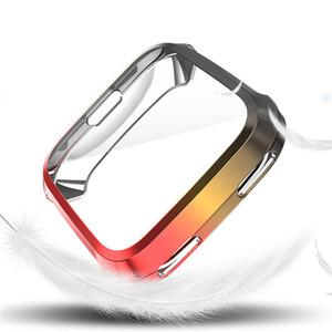 TPU 커버 케이스 Fitbit Versa 2 스크린 프로텍터 그라데이션 케이스 Fitbit Versa Band Watches 액세서리