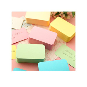 6packs Candy Color Blank Kraft Paper Card Message Memo Wedding Party Gift Thank You Cards Label Bookmarks Learni jllqKe