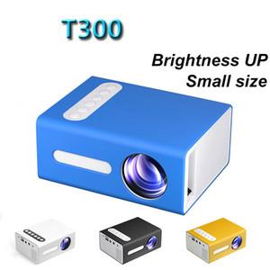 T300 LED Mini Projector support 1080P Video Proyector HDMI USB AV Portable Projektors Home Media Movie Audio Player VS YG300