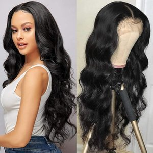 360 Lace Frontal Wig With Baby Hair Body Wave Lace Front Human Hair Wigs Natural U Part Brazilian Wig Ms Love Non Remy