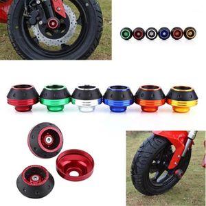 Tekerlek Renkli Koruyucu Motosiklet Kazası Motocross Kaza Ped Tekerlek Çerçeve Slider MOTO1 Koruyun