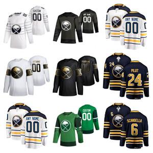 Buffalo Sabres Jerseys Youth Kids Jake McCabe Jersey Colin Miller Brandon Montour Ristolainen Scandella Ice Hockey Jerseys Custom Coinded