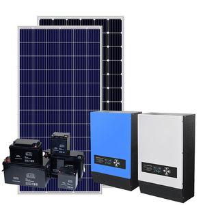 Komple Set Kapalı Izgara Güneş Enerjisi Sistemi 1KW 3KW 5KW Solar Sistemi Izgara Güneş Enerjisi Seti