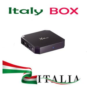 Italy box x96 mini 2GB 16GB android 7.1 smart tv box wifi-LAN IP internet tv player Spain Italian Germany m3u mini pc
