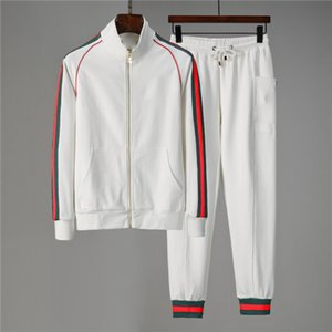 Men Sportswear Tracksuits Set Mens Autumn Winter Casual Tracksuit 2020 New Fashion Man Sweatshirts Coats Male Joggers Streetwear w8