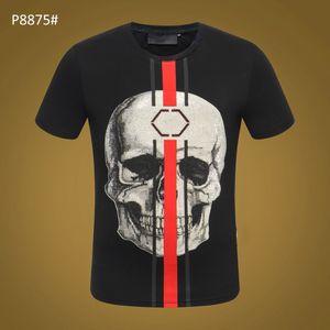 Yaz Moda erkek T Gömlek Rahat Patchwork Kısa Kollu T Gömlek Erkek Giyim Eğilim Rahat Slim Fit Hip-Hop Top Tees 3XL