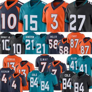 16 Trevor Lawrence Jersey Futbol Gardner Minshew 5 Blake Bontes Drew Lock Jalen Ramsey Jerry Jeudy Josh Allen 21 C.J. Henderson Erkekler